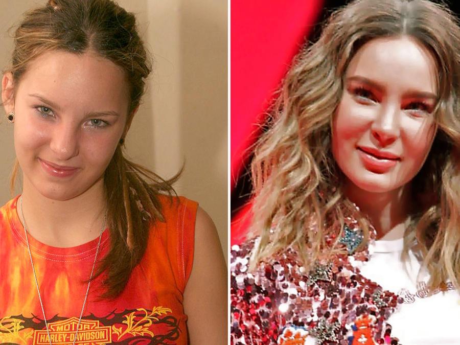 Belinda antes y ahora