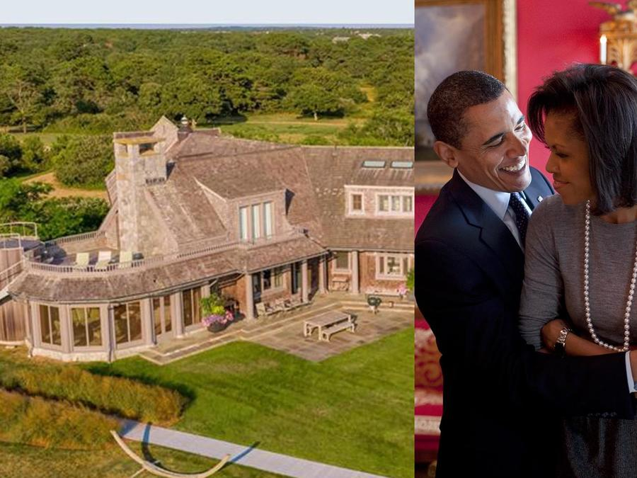 Barack Obama y Michelle Obama quiren esta casa