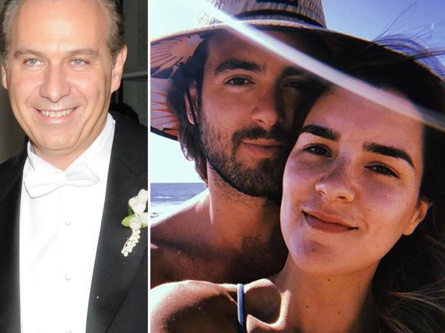 Collage parejas famosas con problemas legales