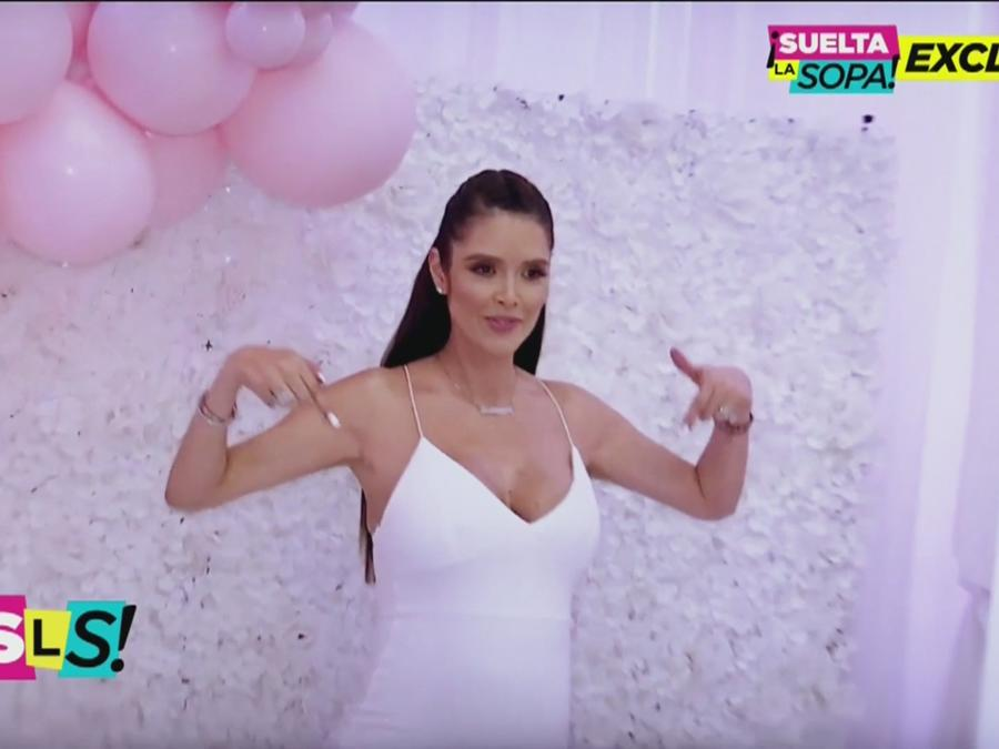 Marlene Favela está en la dulce espera de su bebé (VIDEO)