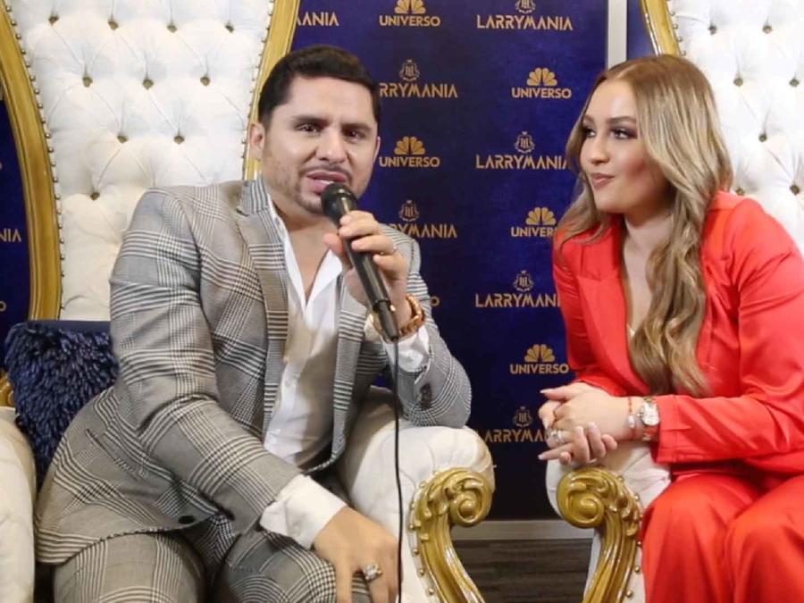 Larry Hernández y Kenia Ontiveros promocionan Larrymanía