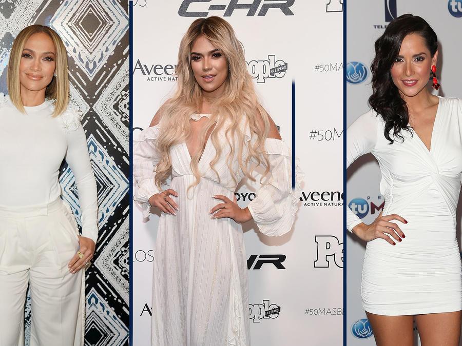Jennifer Lopez, Karol G y Carmen Villalobos