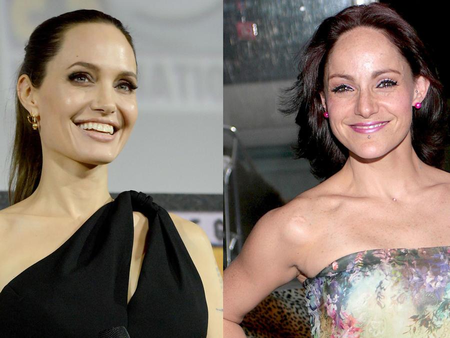 Angelina Jolie y Lola Cortés