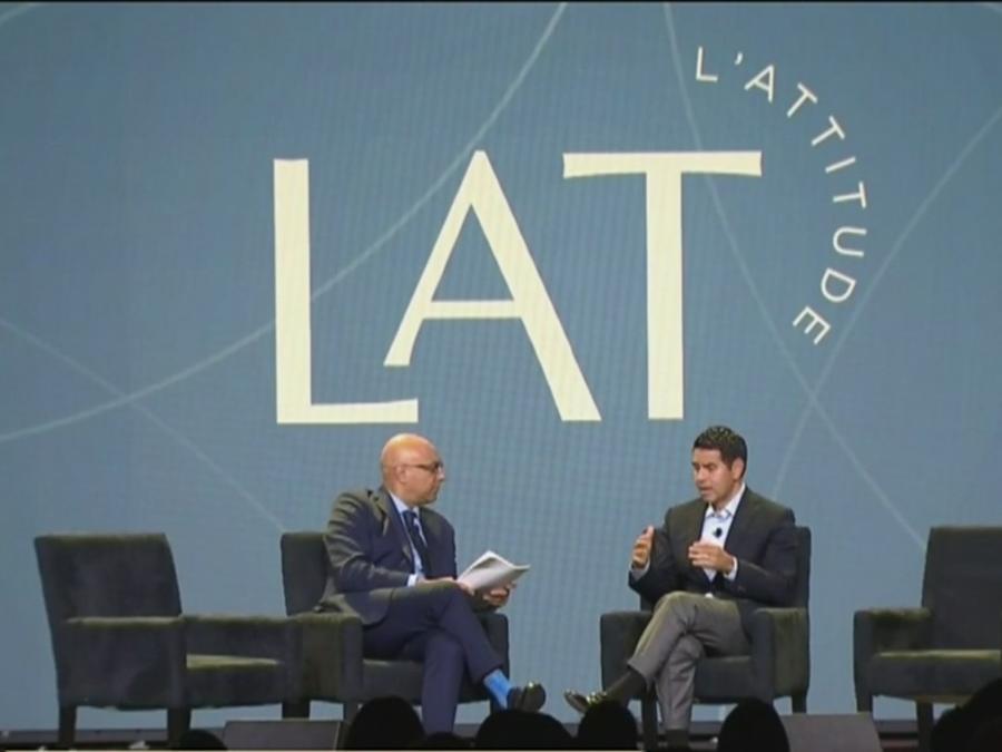 César Conde participa en la Conferencia Empresarial L'Attitude
