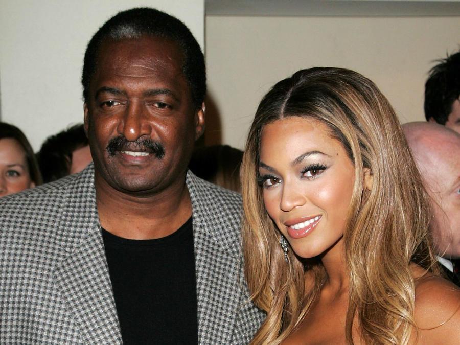 Mathew Knowles y Beyoncé