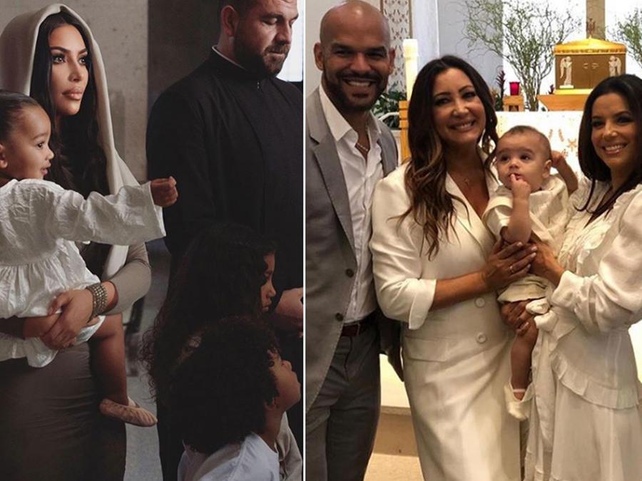 Famosos que bautizan a sus hijos