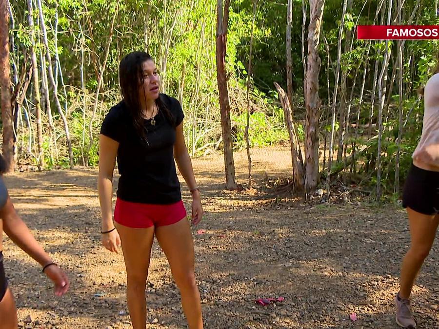Palafox, Shaila y Nicole entrenan fuera de la Cabaña