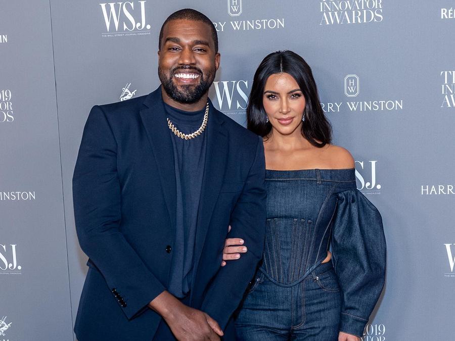 Kanye West y Kim Kardashian en el WSJ Mag 201