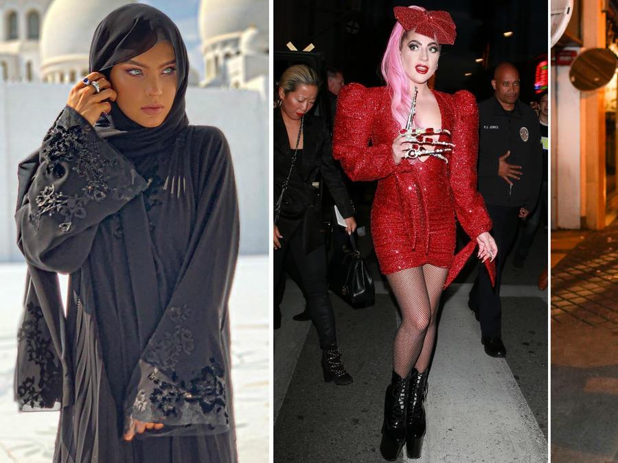 Belinda, Lady Gaga y Gigi Hadid