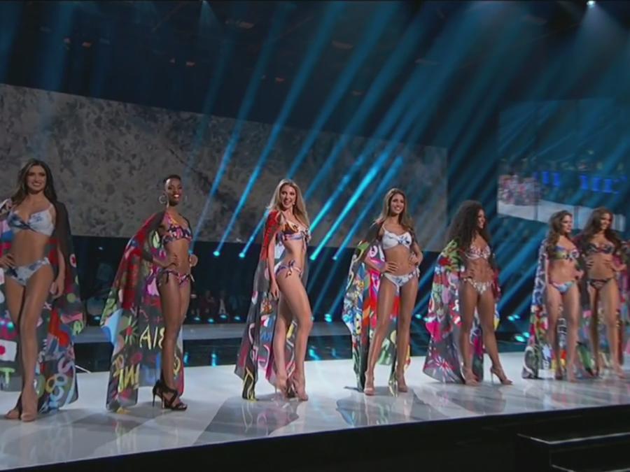 miss universo 2019, traje de baños, 10 finalistas
