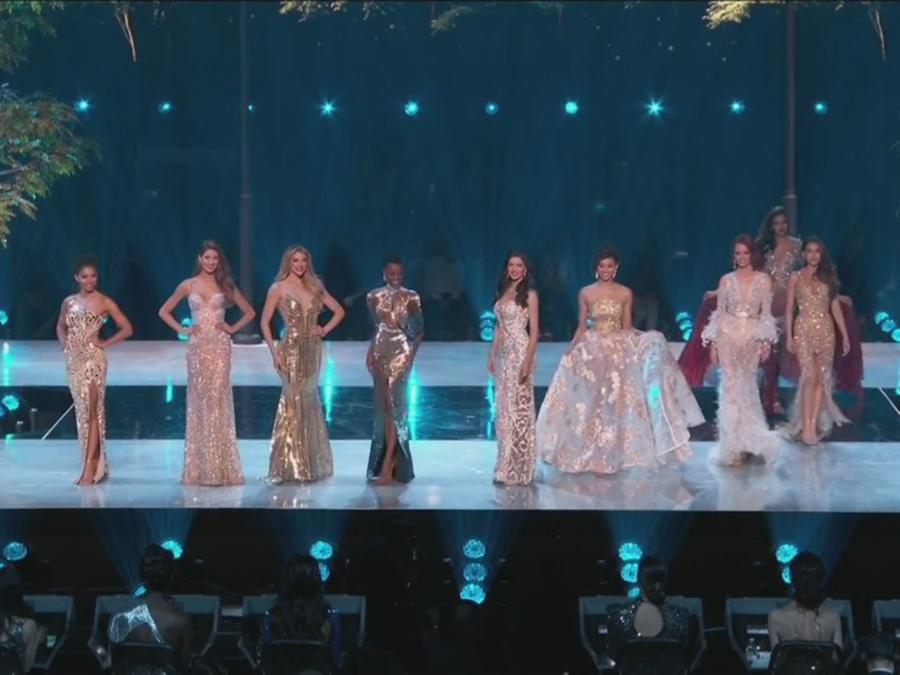 finalistas, traje de gala, Miss Universo 2019