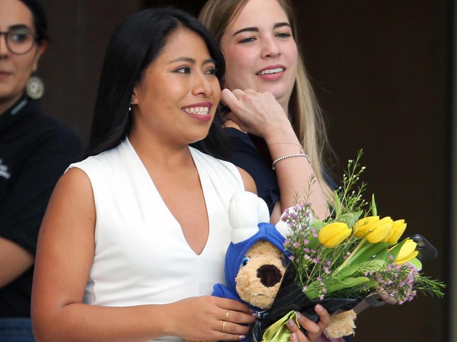 Yalitza Aparicio Press Conference