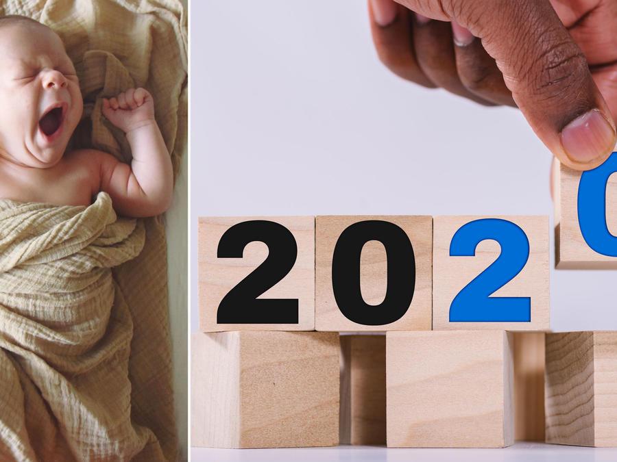 Collage numerología 2020