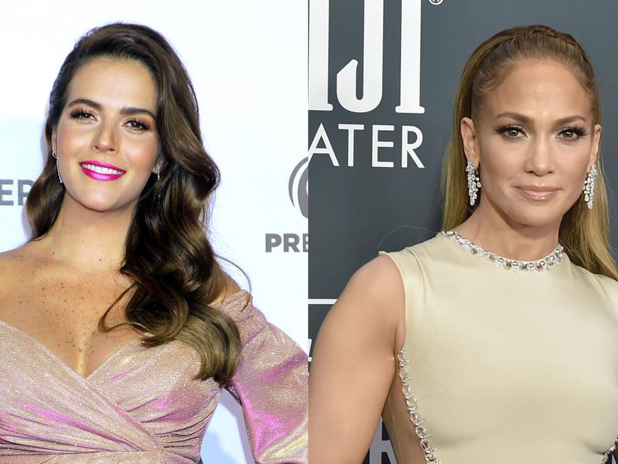 Claudia Álvarez y Jennifer Lopez