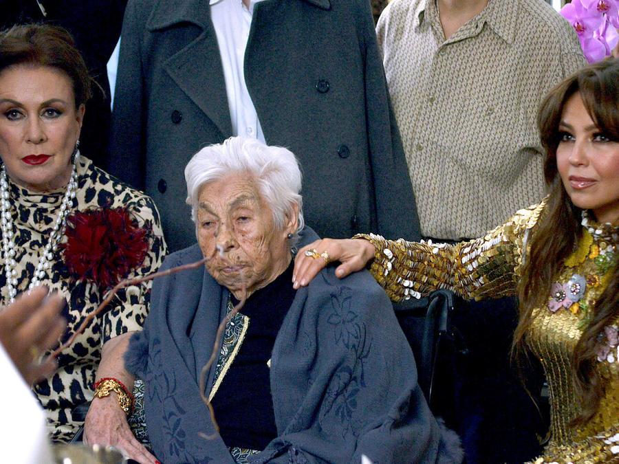 Thalía y Laura Zapata