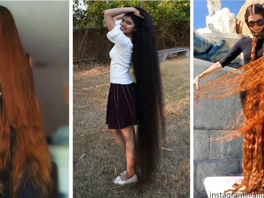Mujeres con el cabello más largo del mundo