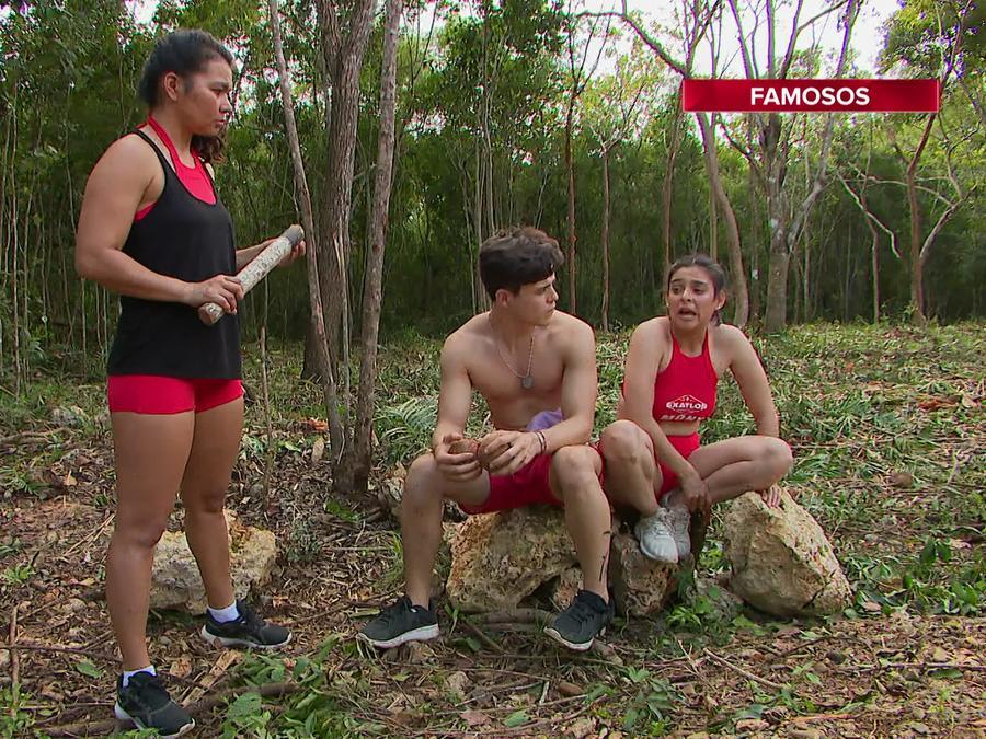 Karely, Íñigo y Mony hablan en la Cabaña