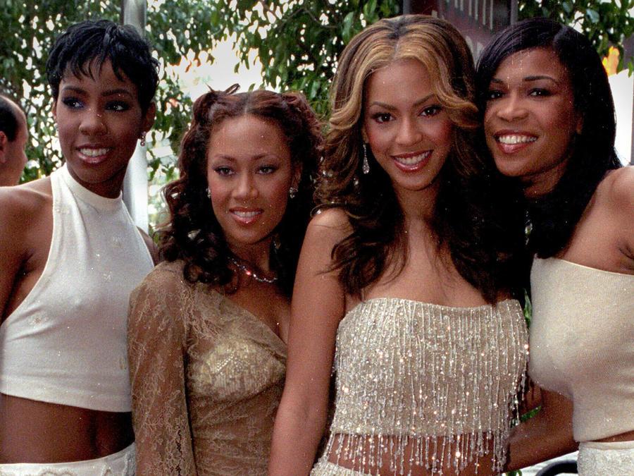 Beyoncé en los Grammys en el 2000