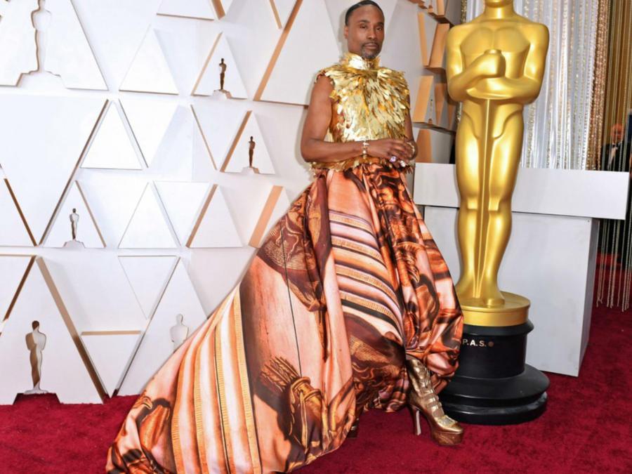 Billy Porter en los Oscars 2020