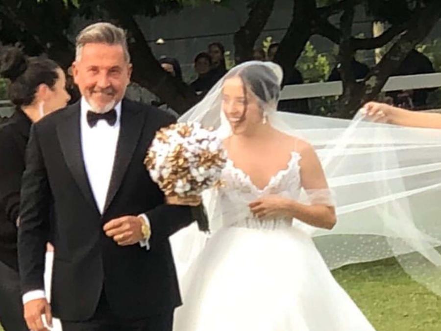 Ricardo Montaner y su hija