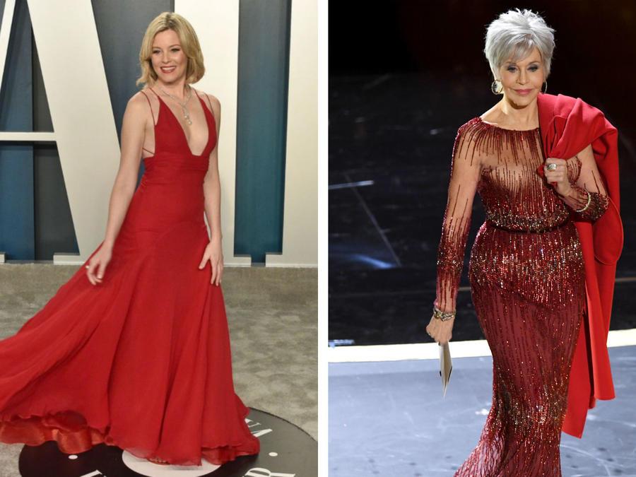 Elizabeth Banks y Jane Fonda