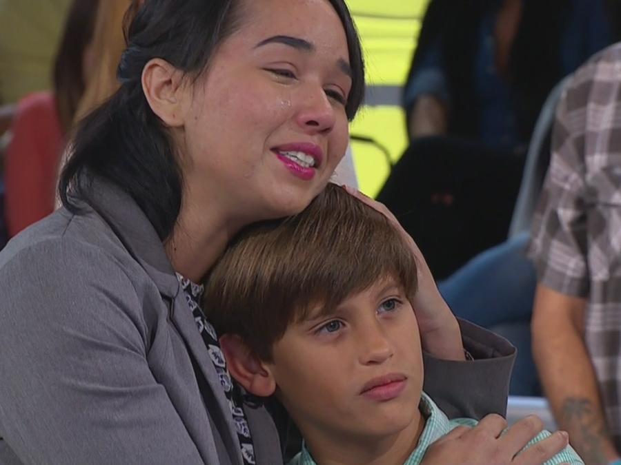 No quiero separarme de quien considero mi hijo