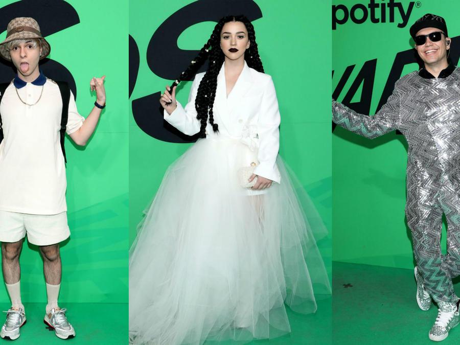 Spotify Awards looks arriesgados