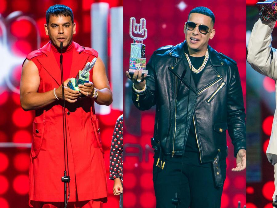Tito el Bambino, Daddy Yankee y Nicky Jam en los Premios Tu Música Urbano 2020