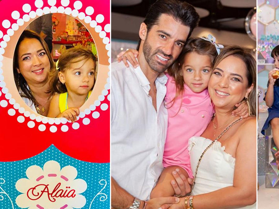 Collage Alaïa y Adamari López