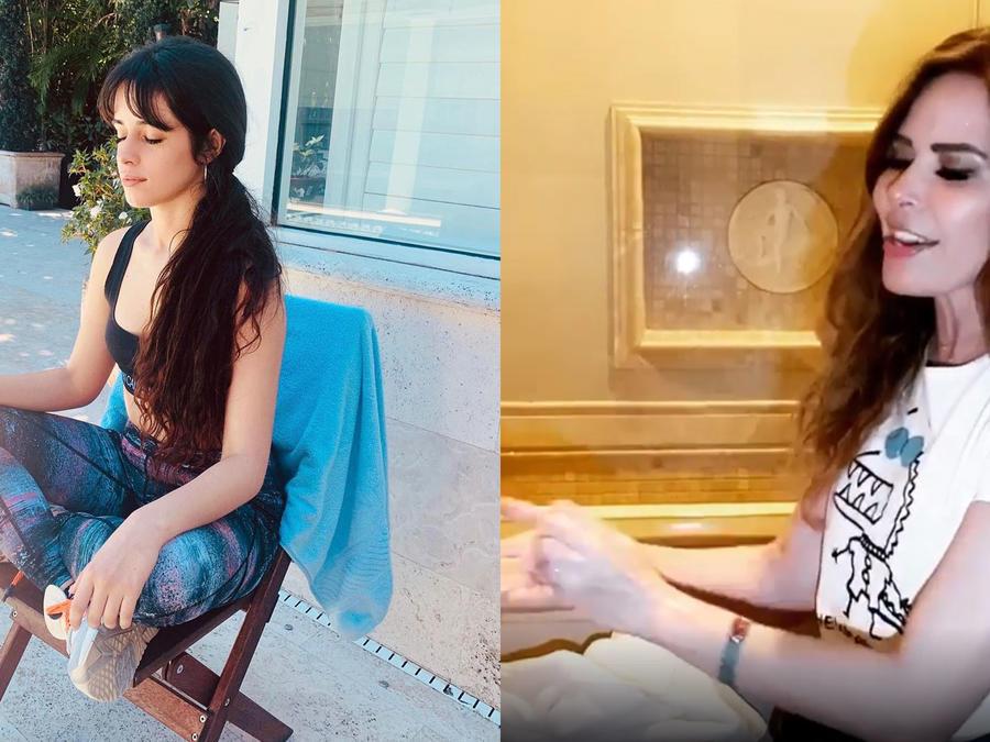 Camila Cabello y Gloria Trevi