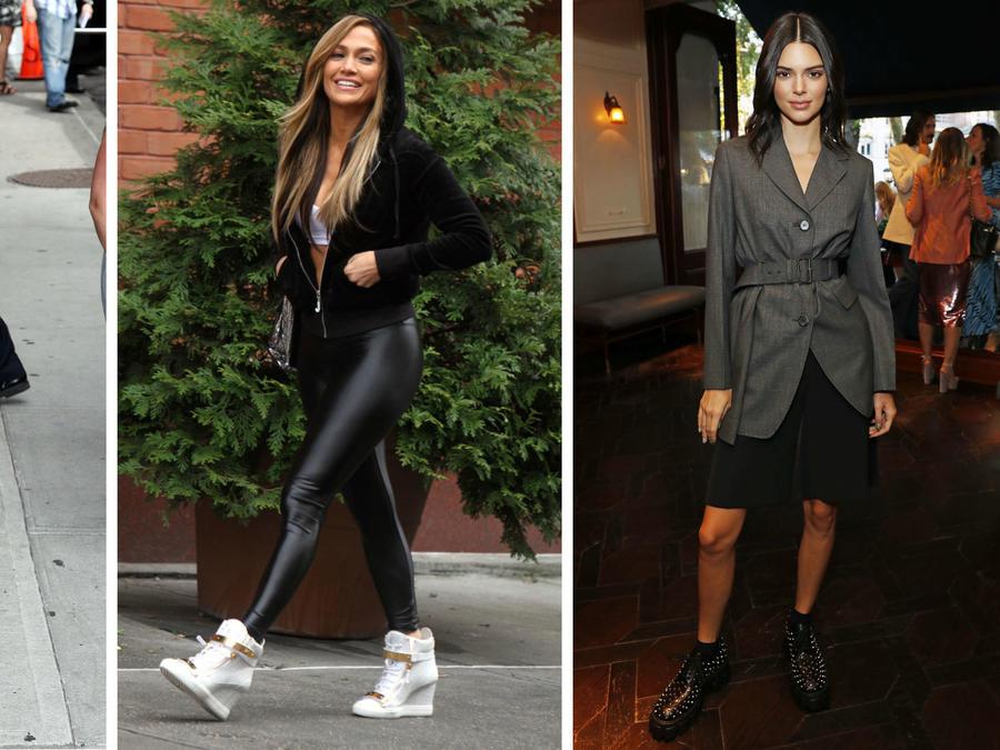 Miley Cyrus, Jennifer Lopez y Kendall Jenner