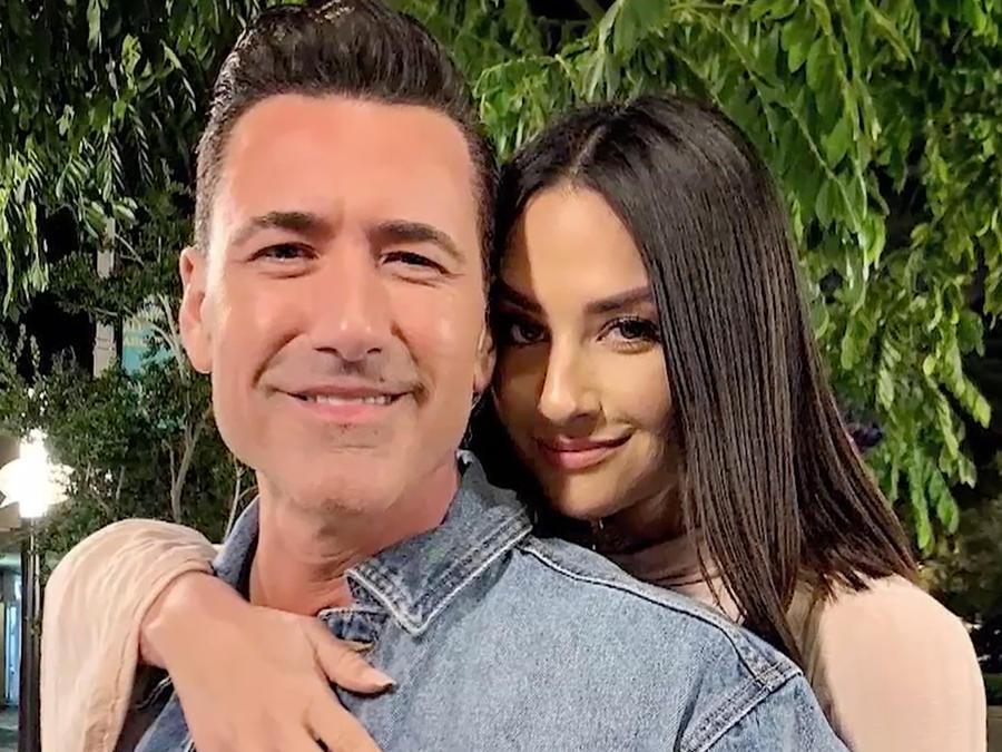 Jorge Bernal y su esposa