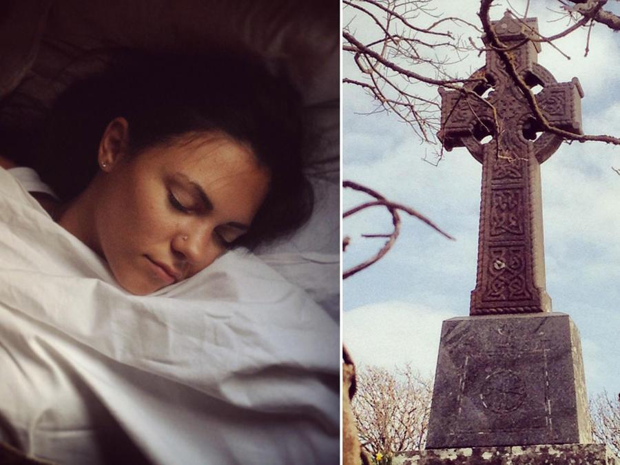 Collage sueños premonitorios