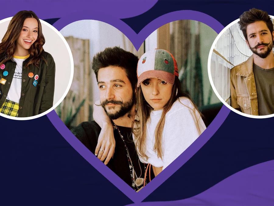 Evaluna Montaner and Camilo's Love Story |Public Display of Amor