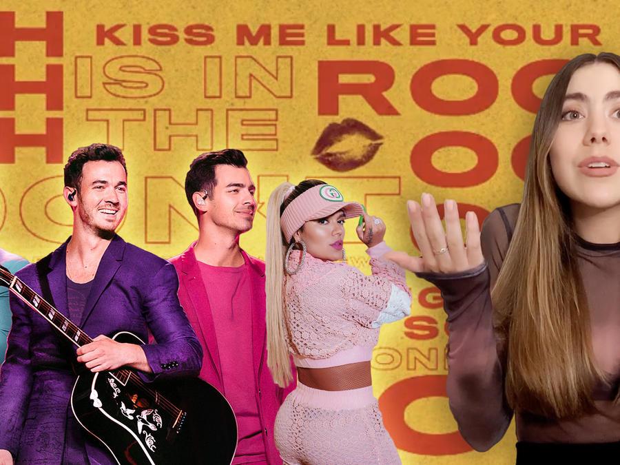 The Jonas Brothers, Karol G, Claudia Vergara, New Music Drop