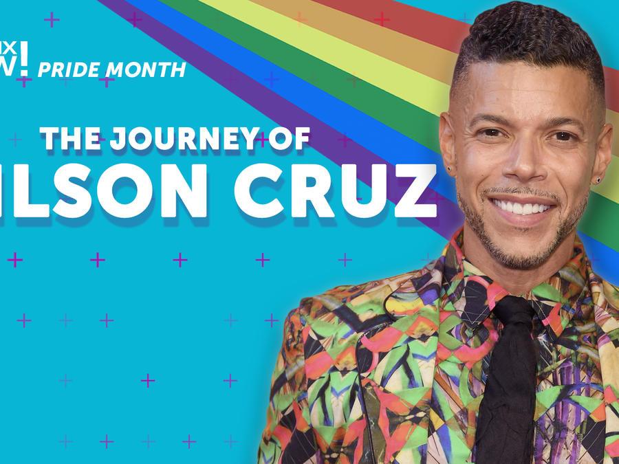 Wilson cruz journey, Pride Month, Latinx Now!