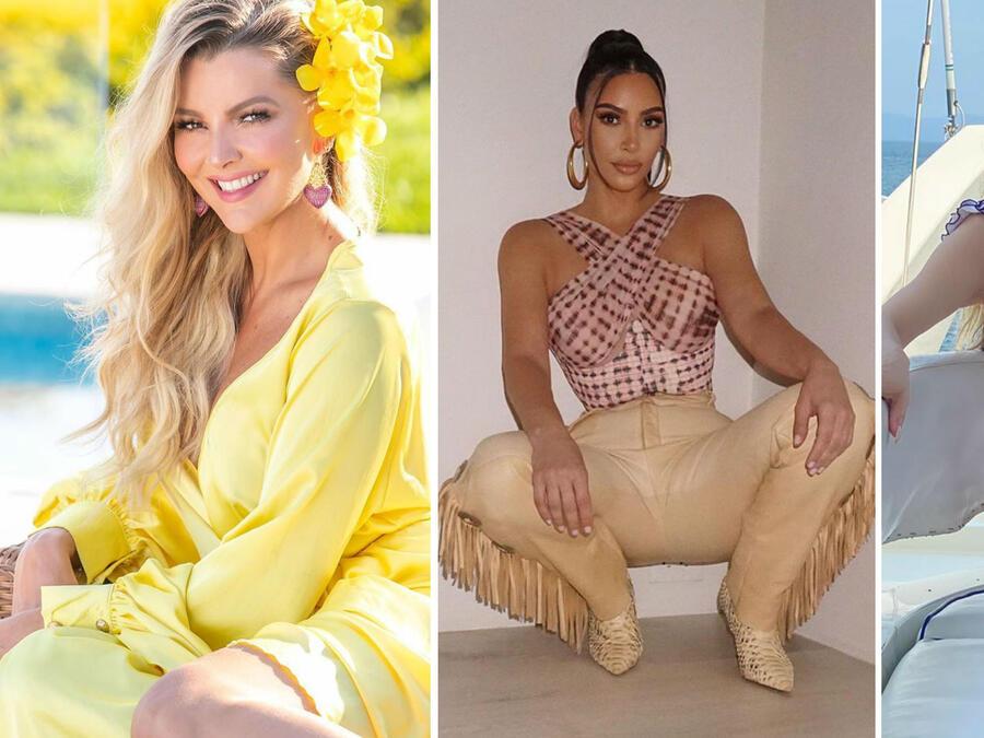 Marjorie de Sousa, Kim Kardashian y Marlene Favela