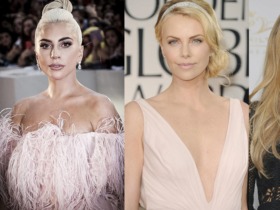 lady gaga, paris hilton, charlize theron