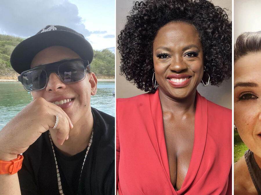 Daddy Yankee, Viola Davis y Dalilah Polanco