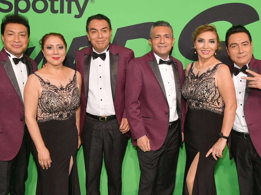 Los Ángeles Azules en los Spotify Awards 2020
