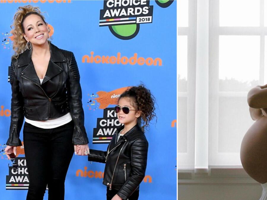 Salma Hayek y Mariah Carey