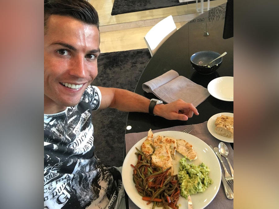 Dieta de Cristiano Ronaldo