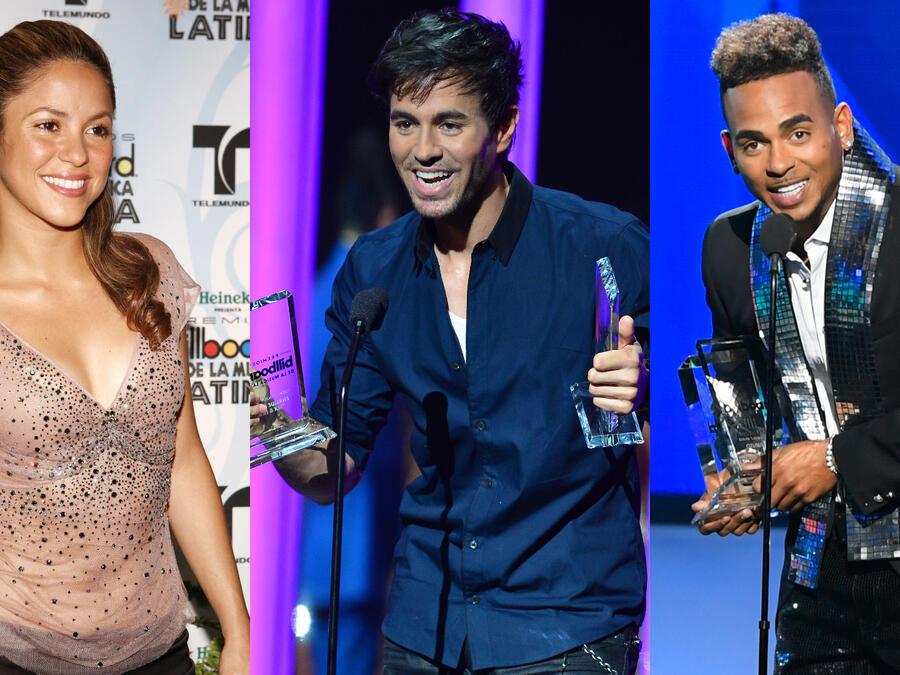 Shakira, Enrique Iglesias y Ozuna en los Premios Billboard de la Música Latina