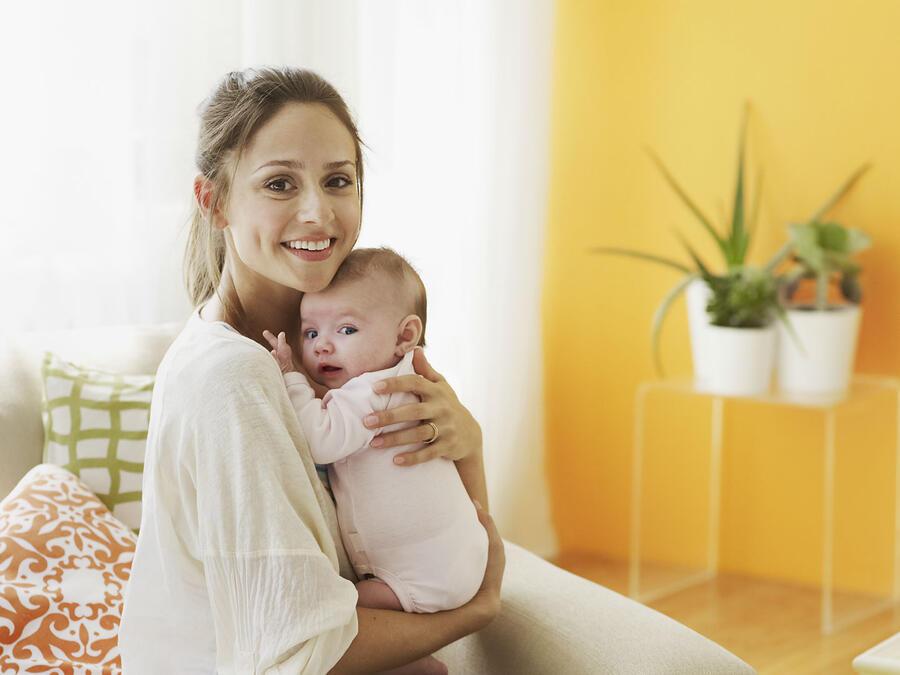 Mamá con su bebé