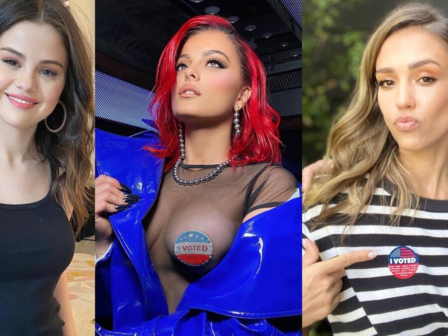 Selena Gomez, Bebe Rexha, Jessica Alba