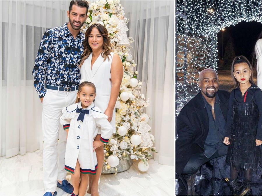 Decoración navideña de Adamari López y Kim Kardashian