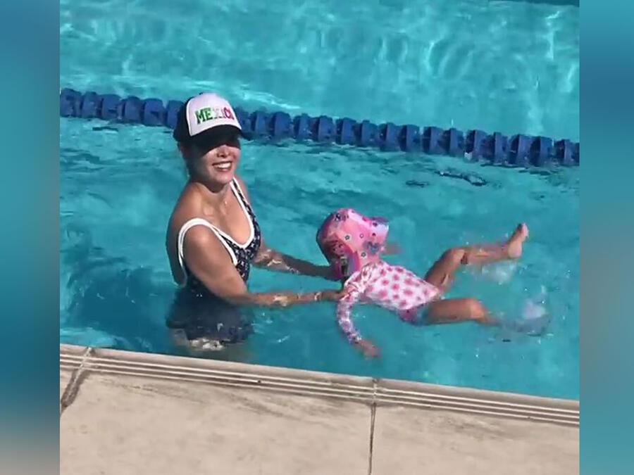 Marlene Favela y su hija