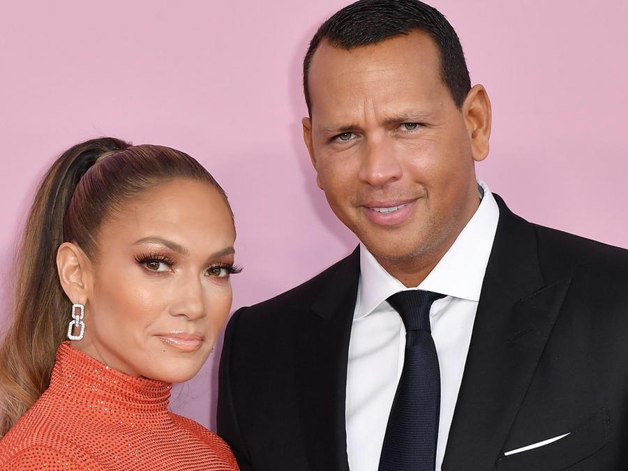 Jennifer Lopez y Arod