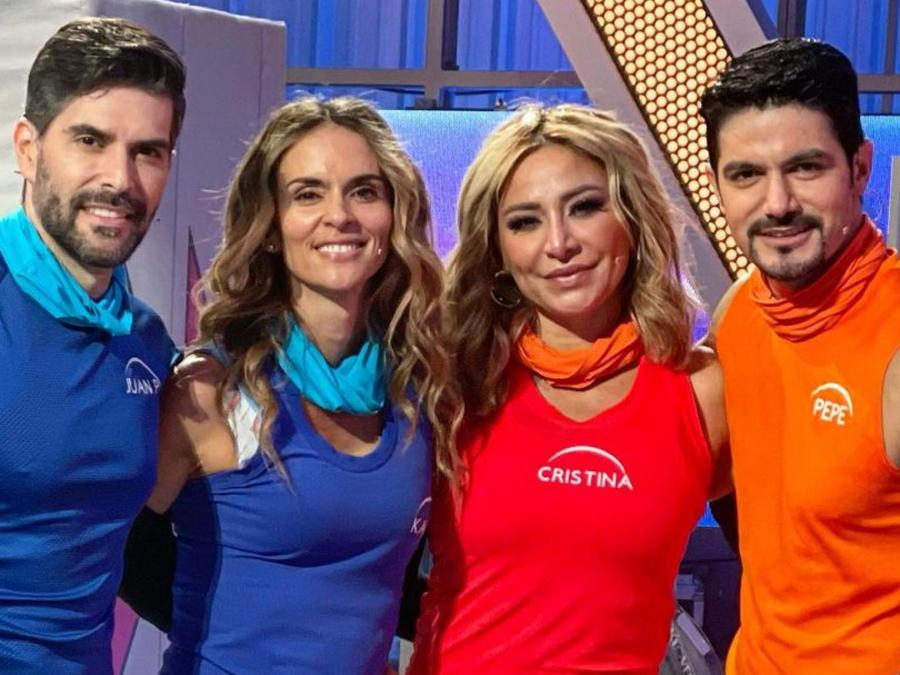 Juan Pablo Llano, Karen Martínez, Cristina Eustace, Pepe Gámez
