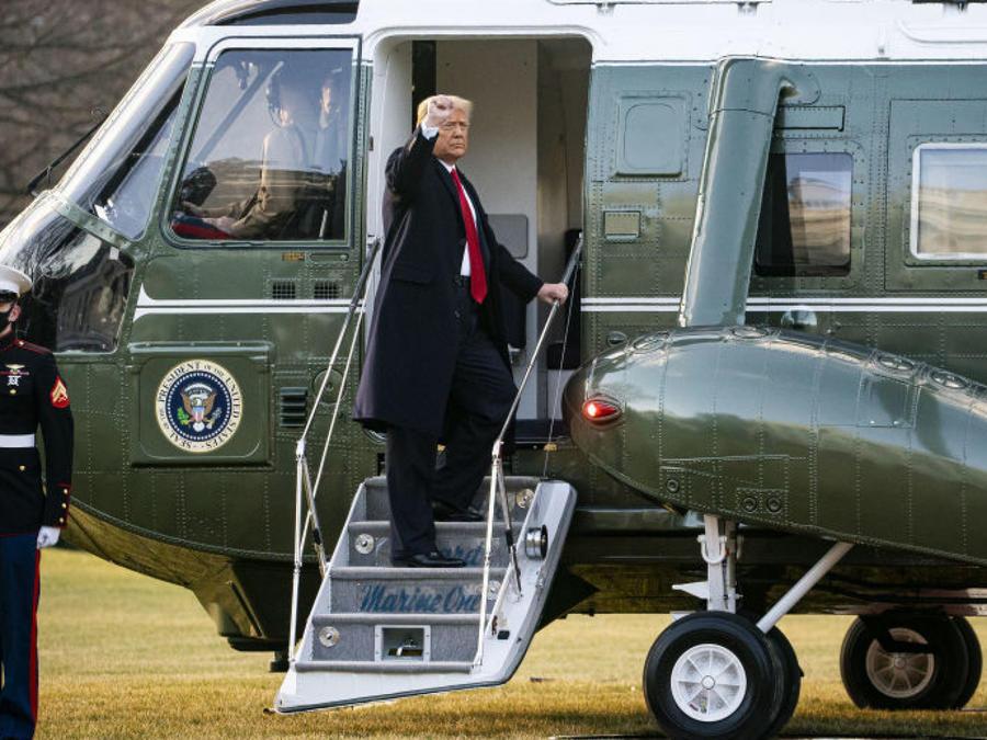 Donald Trump deja la Casa Blanca
